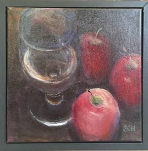 Glass and Apples