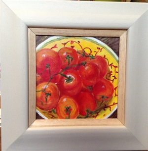 Tomatoes in Yellow Bowl