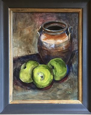 Bramley Apples and Jar